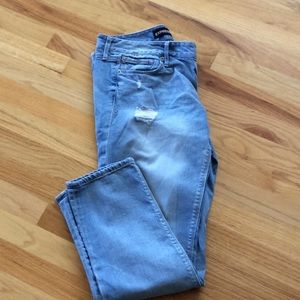 Express Ankle Skinny low rise Stella Size 8